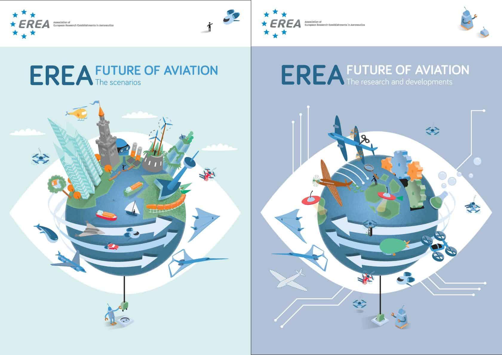 "Invitation – EREA ""Future of Aviation"" Vision Study – Handover event – 1st of June 2021 – 16:30-17:30"