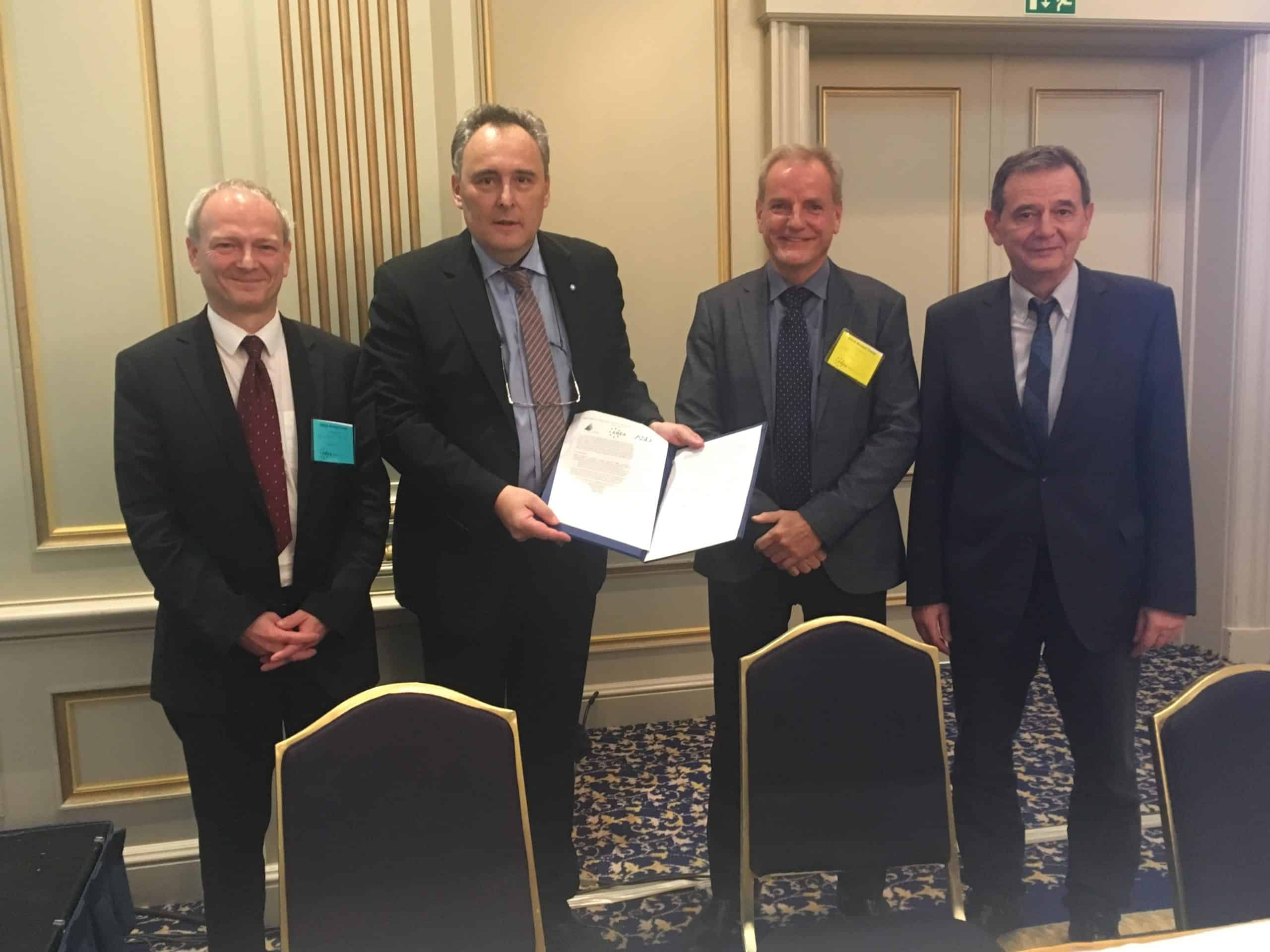 EREA, EASN and ASD sign joint statement on Aeronautics Research and Innovation in Horizon Europe